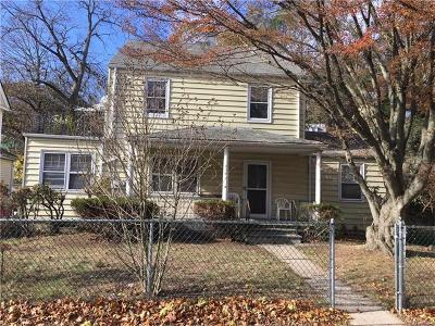 White Plains Multi Family 2-4 For Sale: 69 Valley Road