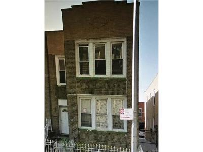 Bronx Multi Family 2-4 For Sale