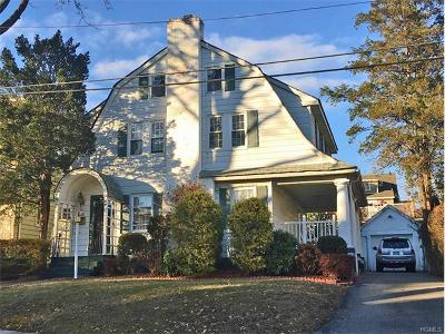 White Plains Single Family Home For Sale: 10 Wayne Avenue