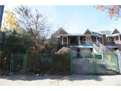 Bronx Multi Family 2-4 For Sale: 3235 Eastchester Road