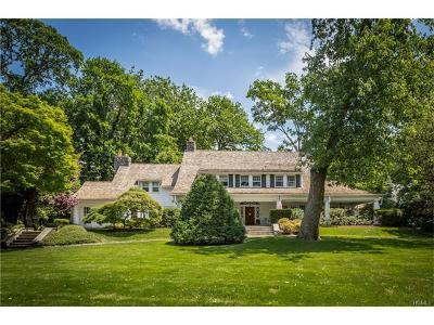 Bronxville Single Family Home For Sale: 19 Garden Avenue