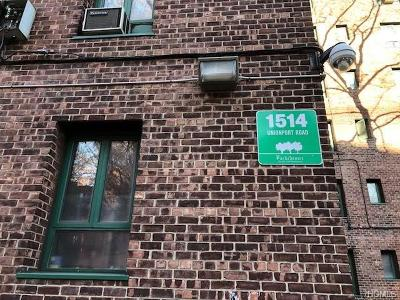 Bronx Condo/Townhouse For Sale: 1514 Unionport Road #1C