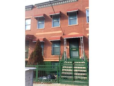 Bronx Multi Family 2-4 For Sale: 787 Hewitt Place