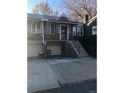Bronx Multi Family 2-4 For Sale: 2705 Fenton Avenue