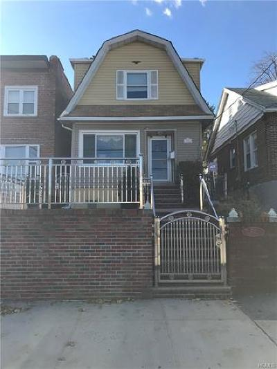 Bronx Single Family Home For Sale: 711 Logan Avenue