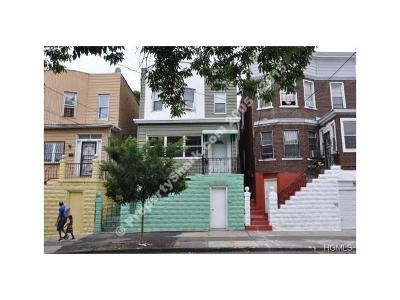 Bronx Multi Family 2-4 For Sale: 1473 Saint Lawrence Avenue