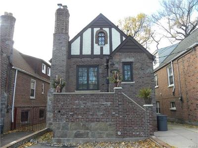 Bronx Single Family Home For Sale: 1821 Tenbroeck Avenue
