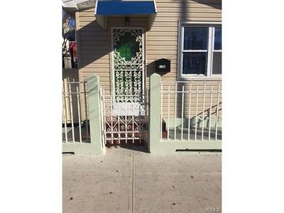 Bronx Single Family Home For Sale: 1156 St. Lawrence Avenue