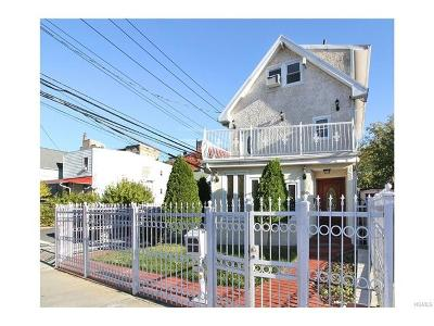 Bronx NY Single Family Home For Sale: $850,000