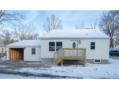 Walden NY Single Family Home Sold: $189,900
