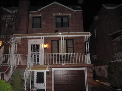 Bronx Rental For Rent: 2013 Yates Avenue