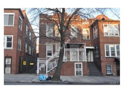 Bronx Multi Family 2-4 For Sale: 642 Barretto Street