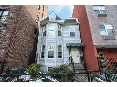 Bronx NY Multi Family 2-4 For Sale: $589,000