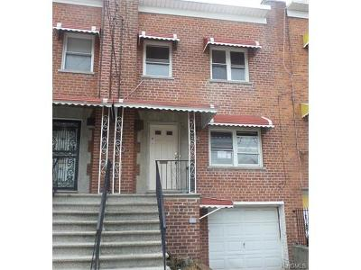 Bronx NY Single Family Home For Sale: $299,250