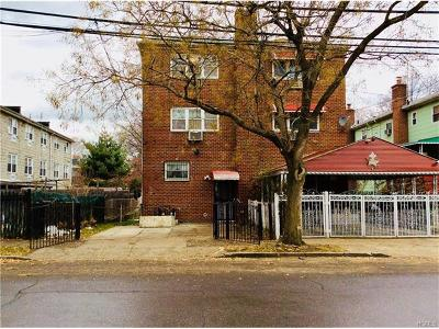 Bronx NY Multi Family 2-4 For Sale: $460,000