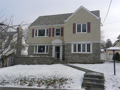 Yonkers Single Family Home For Sale: 58 Hughes Terrace