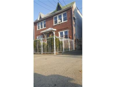 Bronx Multi Family 2-4 For Sale: 4028 Paulding Avenue