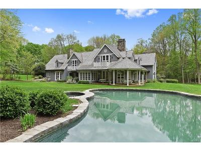 Pound Ridge Single Family Home For Sale: 141 Lower Shad Road