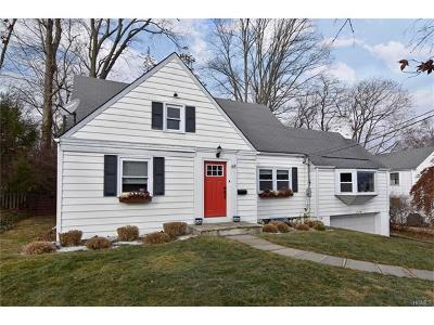 Scarsdale NY Single Family Home For Sale: $675,000
