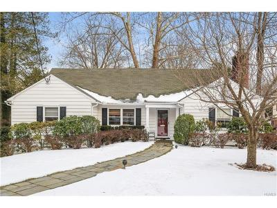 Scarsdale NY Single Family Home For Sale: $1,295,000
