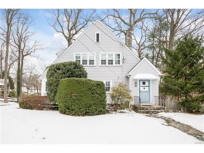 Scarsdale NY Single Family Home For Sale: $715,000
