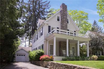 Scarsdale NY Single Family Home For Sale: $1,200,000