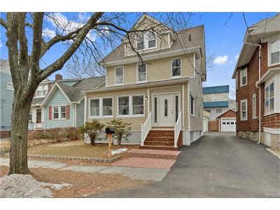 Westchester County Single Family Home For Sale: 50 Lincoln Street