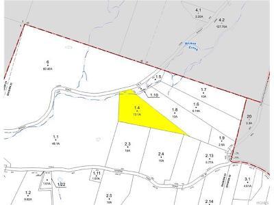 Fremont Center Residential Lots & Land For Sale: Tbd Basket Road