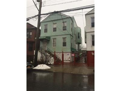 Bronx Multi Family 2-4 For Sale: 2170 Story Avenue