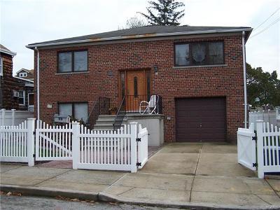Bronx NY Single Family Home For Sale: $750,000