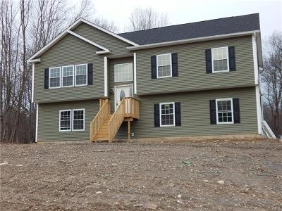 Bloomingburg Single Family Home For Sale: Lot 2 Rolands Way