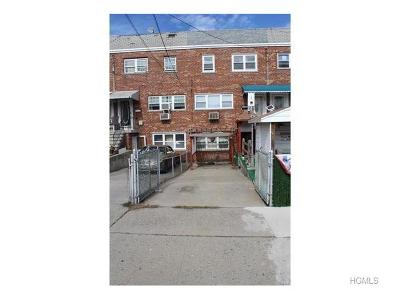 Bronx NY Single Family Home For Sale: $499,999