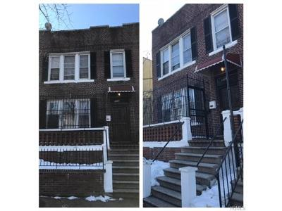 Bronx Multi Family 2-4 For Sale: 3317 Fish Avenue