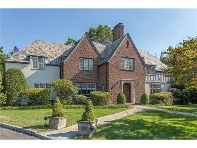 Bronxville Single Family Home For Sale: 10 White Plains Road
