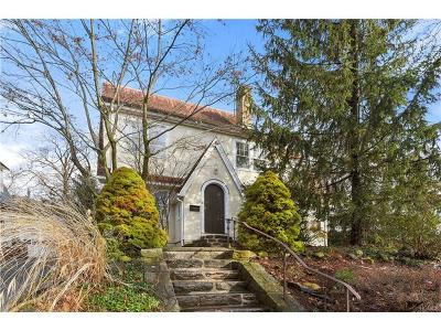 Dobbs Ferry Single Family Home For Sale: 85 Mohican Pk Avenue