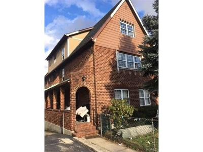 Yonkers Multi Family 2-4 For Sale: 61 Sherwood Avenue
