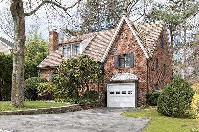 Scarsdale NY Single Family Home For Sale: $1,225,000