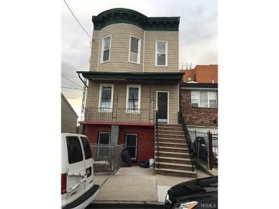 Bronx Multi Family 2-4 For Sale: 1006 East 172nd Street