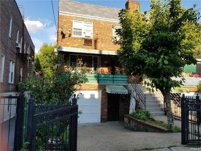 Bronx Multi Family 2-4 For Sale: 2752 Barnes Avenue