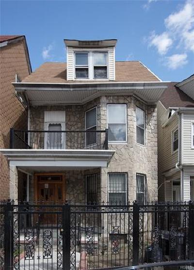 Bronx NY Multi Family 2-4 For Sale: $900,000