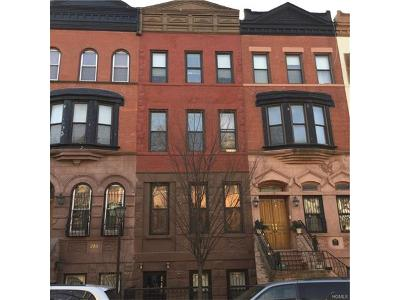 New York Multi Family 5+ For Sale: 232 West 136 Street