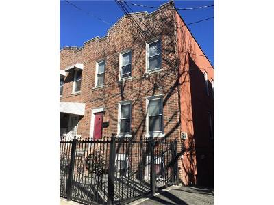 Bronx Multi Family 2-4 For Sale: 724 Taylor Avenue