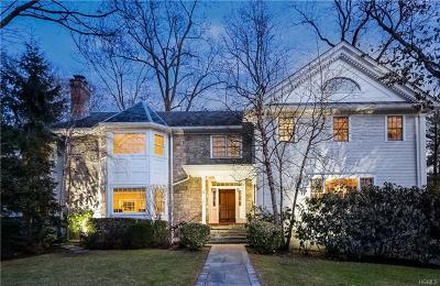 Scarsdale NY Single Family Home For Sale: $3,199,000