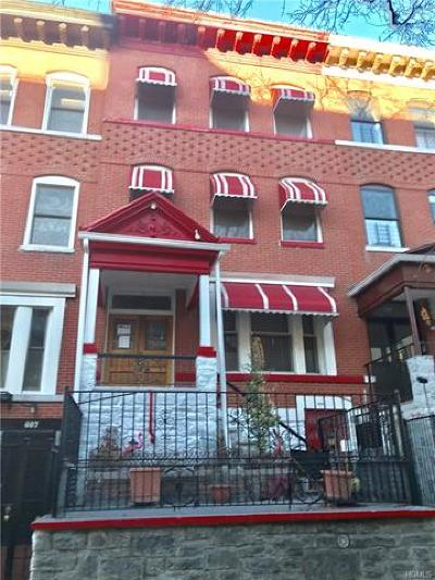 New York Multi Family 2-4 For Sale: 605 West 187 Street