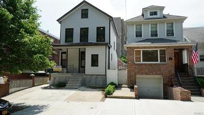 Bronx Single Family Home For Sale: 1611 Mahan Avenue