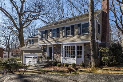 Bronxville Single Family Home For Sale: 3 Red Oak Road