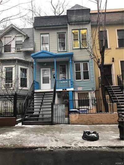 Bronx Multi Family 2-4 For Sale: 1303 Shakespeare Avenue