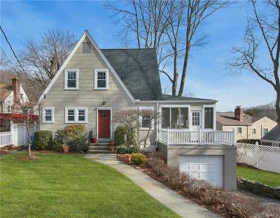 Dobbs Ferry Single Family Home For Sale: 44 Shady Lane