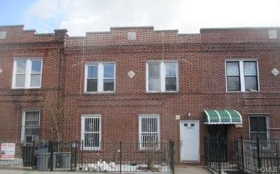 Bronx Multi Family 2-4 For Sale: 1450 Leland Avenue