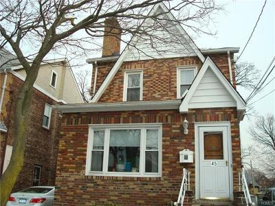 Yonkers Single Family Home For Sale: 45 Boone Street